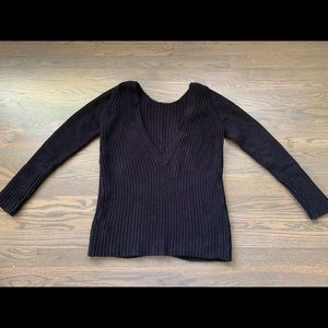 Zara Knit Black Sweater